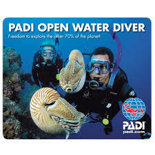 Neue PADI Open Water Taucherin